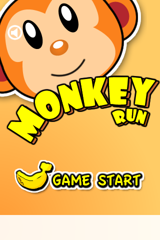 Screenshot Monkey Run Free