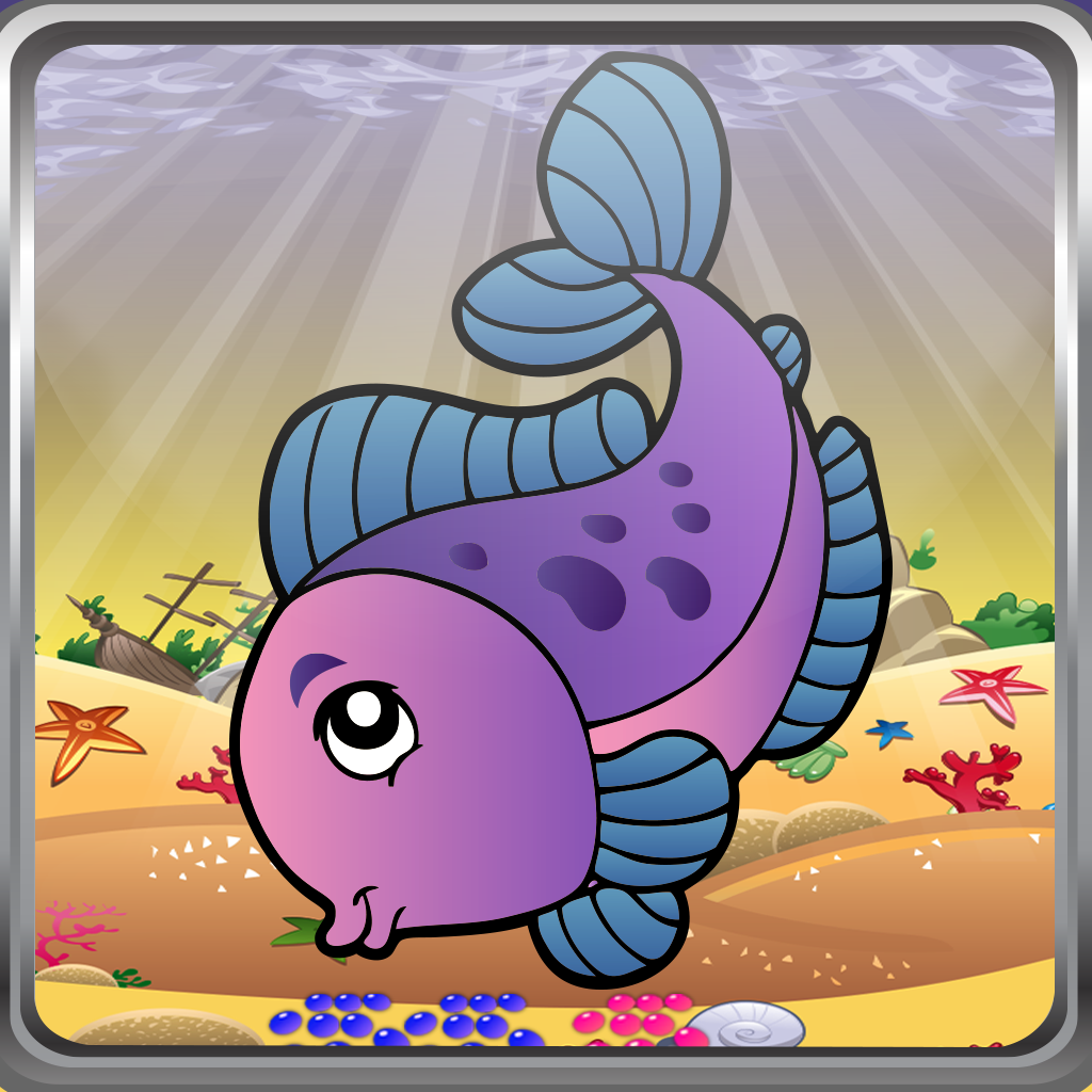 Ace Fish Food -Match 3 Puzzle- Free